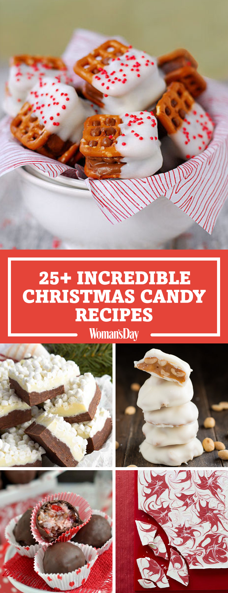 28 Homemade Christmas Candy Recipes How To Make Your Own Holiday Candy