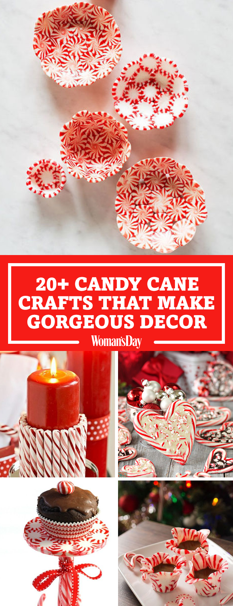 25 Candy Cane Crafts Diy Decorations