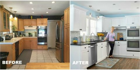 Make A Woman\'s Day Kitchen Makeover - Before and After ...