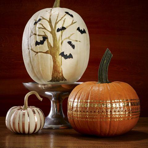 47 Pumpkin Painting Ideas Cute Painted
