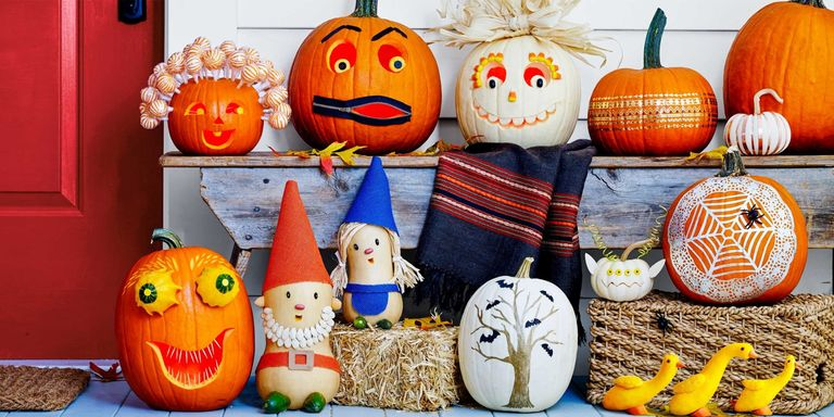 your trick or treaters are going to love seeing these creations - Unique Pumpkin Carving Ideas