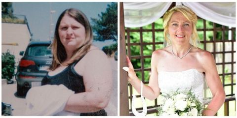 Wedding Weight Lose.Wedding Delayed 12 Years For Weight Loss Bride Drops 140 Pounds