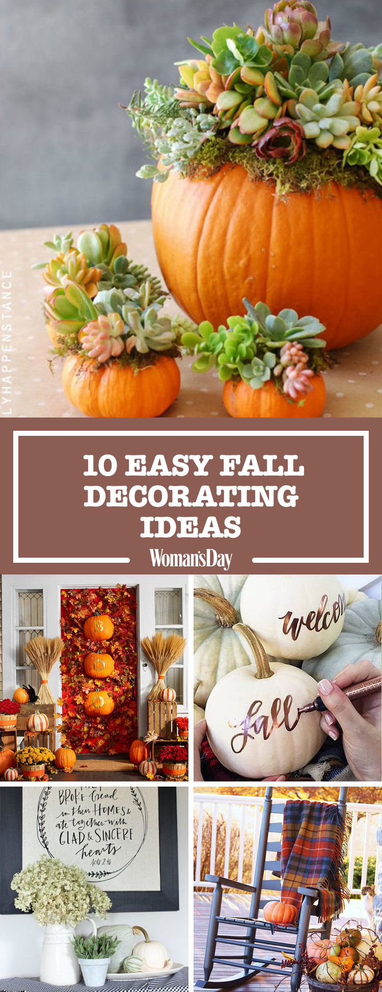12 easy fall decorating ideas best autumn decor tips - Fall Decorating