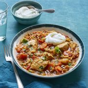 Indian Spiced Chicken and Rice Stew Recipe