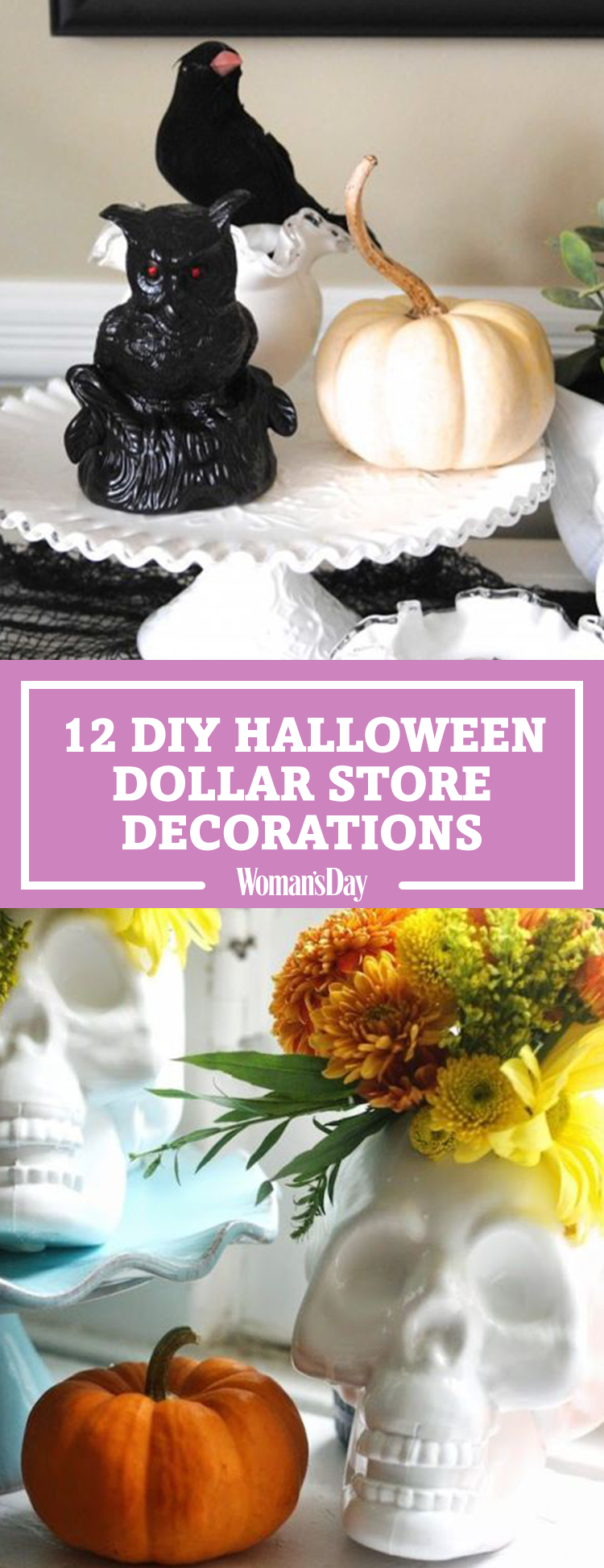 12 Easy Dollar Store Halloween Decorations