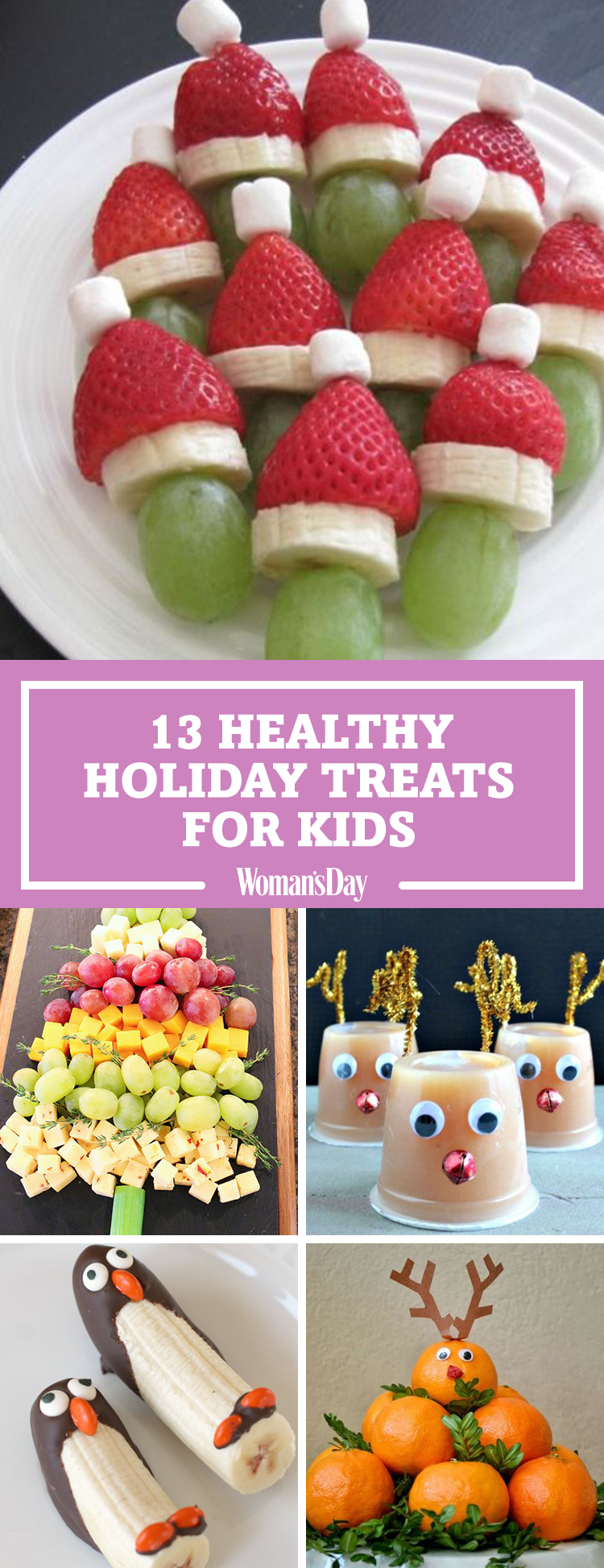 20 Healthy Christmas Snacks for Kids - Easy Ideas for Holiday Snack ...