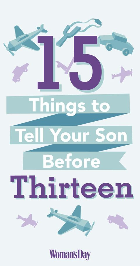 Things To Tell Your Son