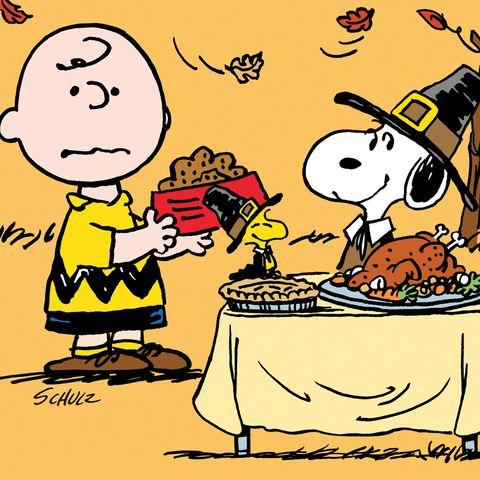 charlie brown thanksgiving movie