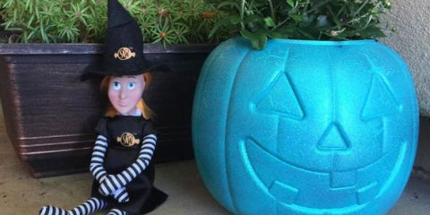 Switch Witch Halloween Version of Elf on a Shelf for
