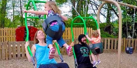 Easy Diy Kids Playground