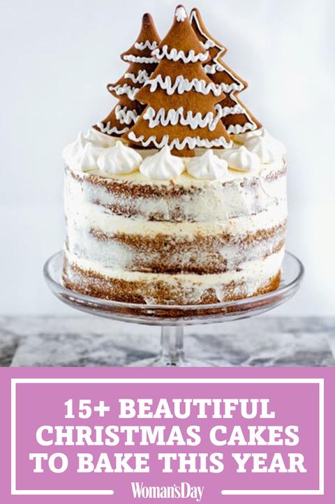 Christmas Cake Designs.25 Easy Christmas Cake Recipes Best Holiday Cake Ideas
