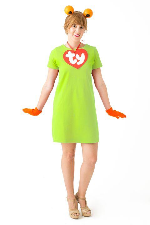 beanie baby 90s halloween costume