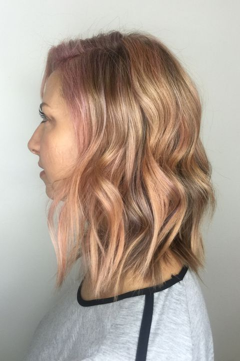 15 Subtle Hair Color Ideas - 15 Ways to Add a Pretty Touch of Color ...