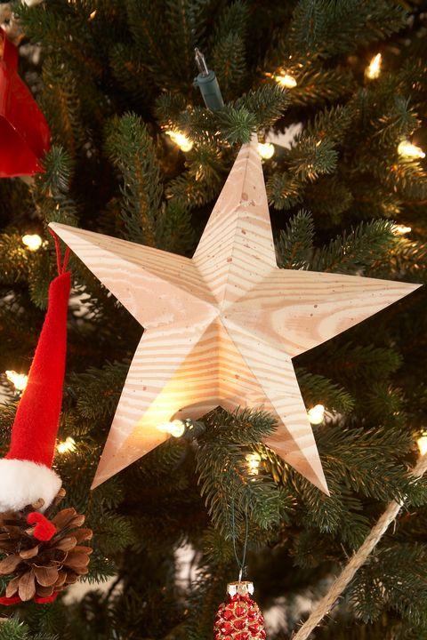 diy christmas ornaments star ornament - Homemade Christmas Star Decorations