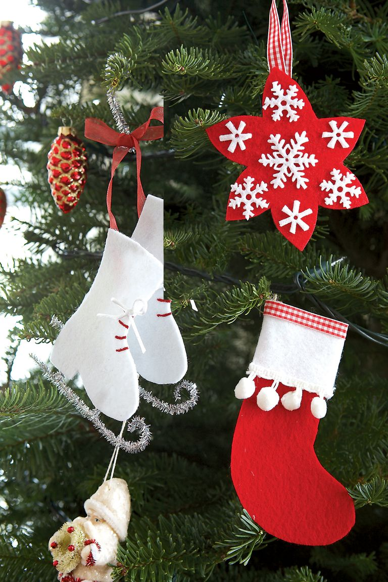 32 Homemade DIY Christmas Ornament Craft Ideas - How To ...