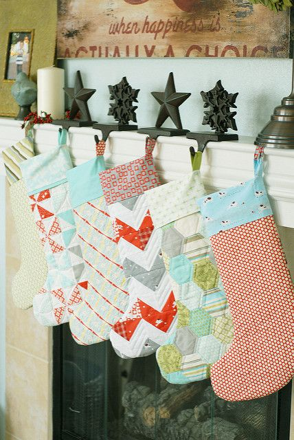 23 Diy Christmas Stockings How To Make Craft Ideas Woman S Day