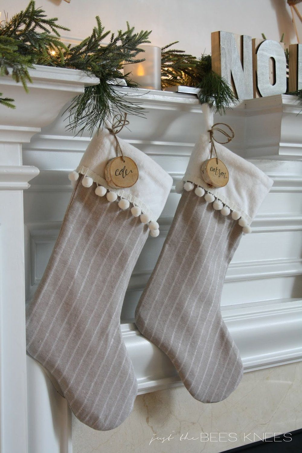 23 DIY Christmas Stockings - How to Make Christmas Stockings Craft ...
