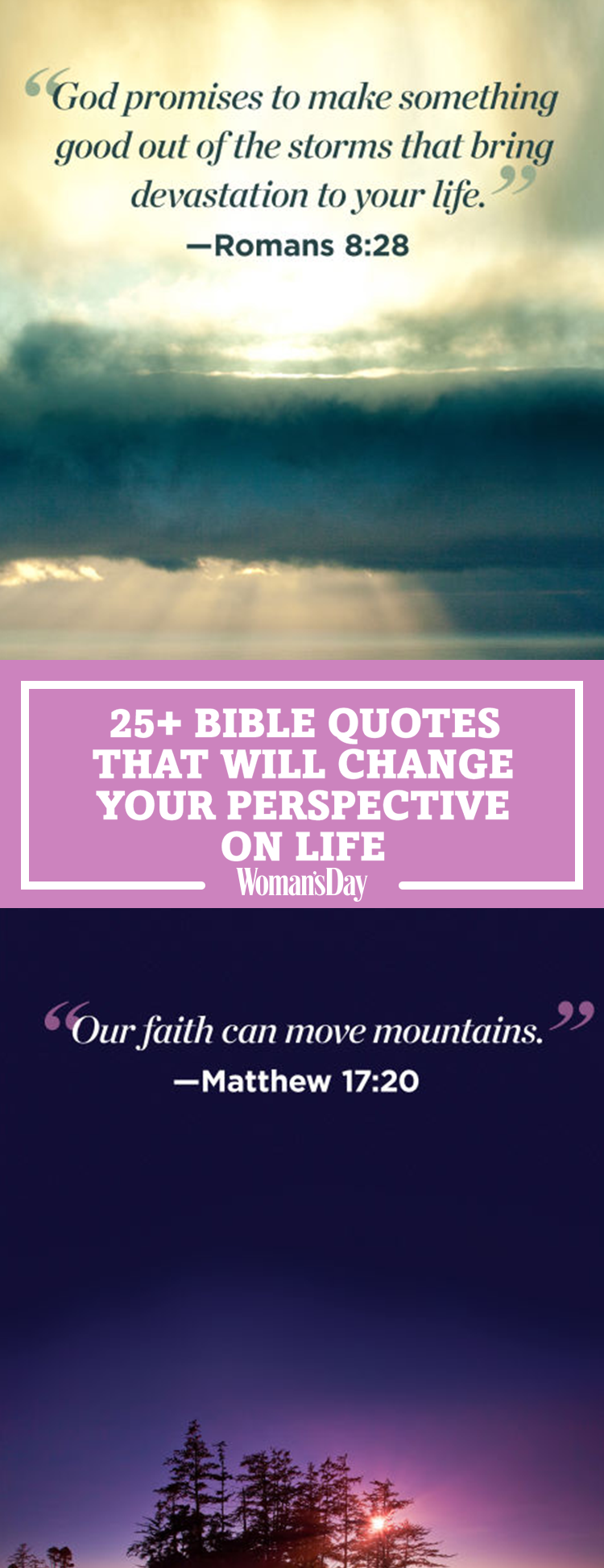 Bible Life Quotes 26 Inspirational Bible Quotes That Will Change Your Perspective On