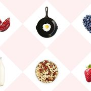 Red, Pattern, Fruit, Natural foods, Produce, Earrings, Strawberries, Strawberry, Peach, Seedless fruit,