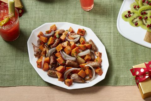 Roasted Sausage and Butternut Squash Hash Recipe