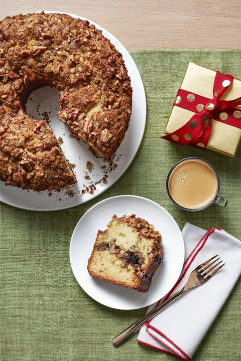 coffee cake christmas desserts