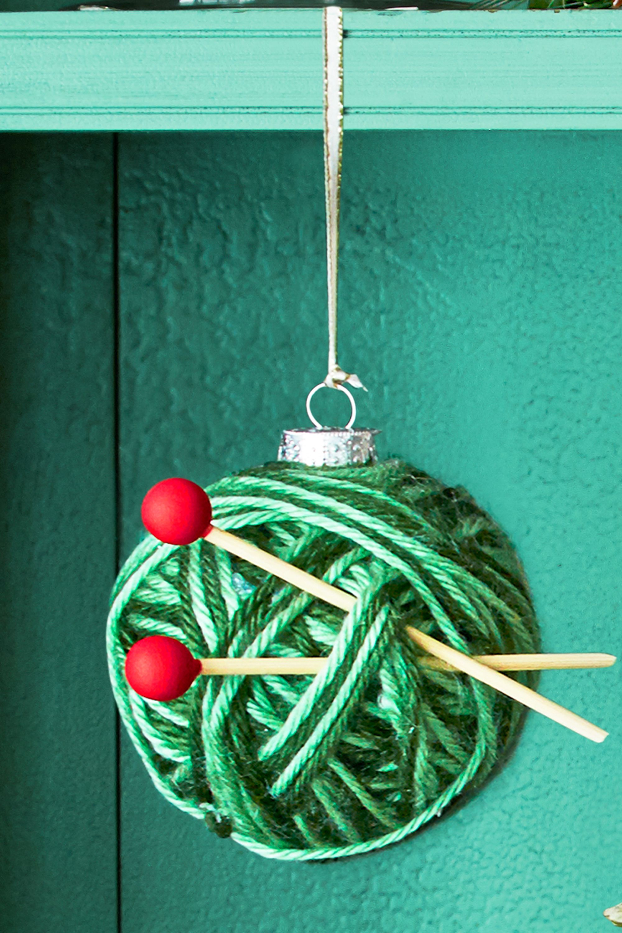 31 homemade diy christmas ornament craft ideas how to make holiday ornaments - Teal Green Christmas Decorations