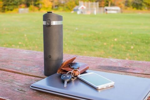 Brew K Cups On The Go With This New Travel Mug Anycafe Travel Brewer