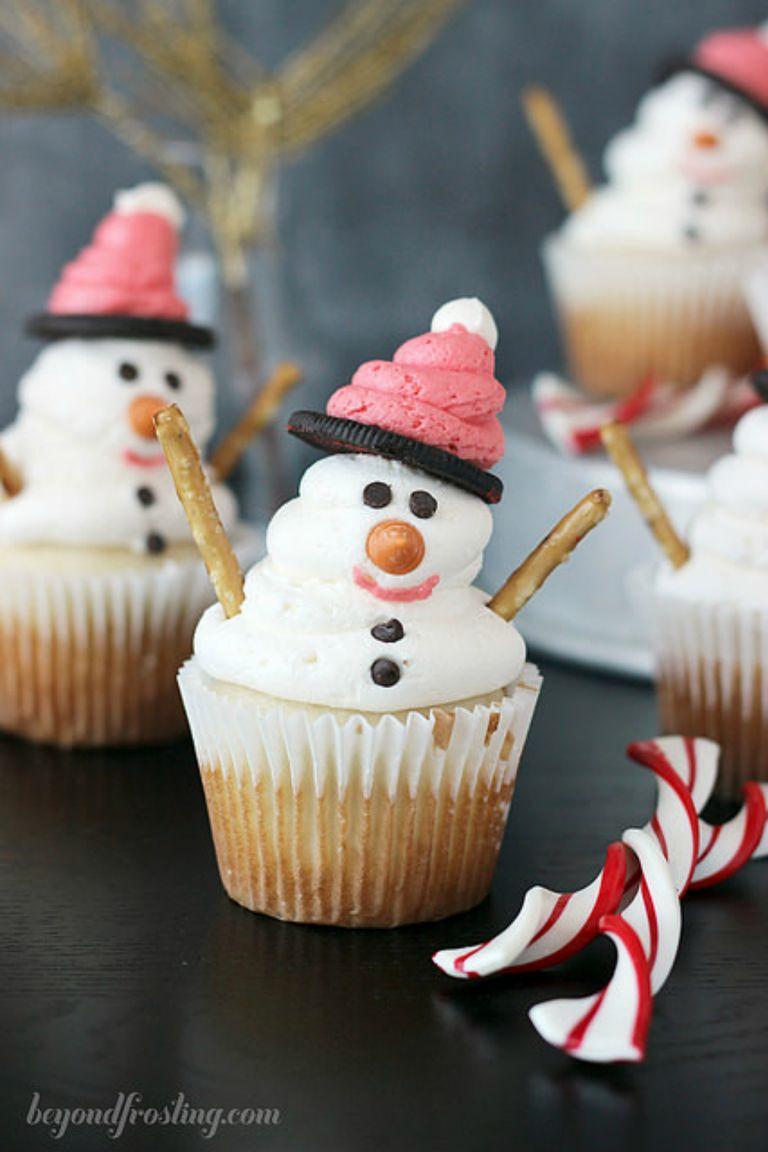 19 Cute Christmas Cupcake Ideas Easy Recipes And