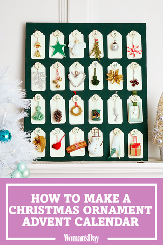 Diy Advent Calendar How To Make An Advent Calendar