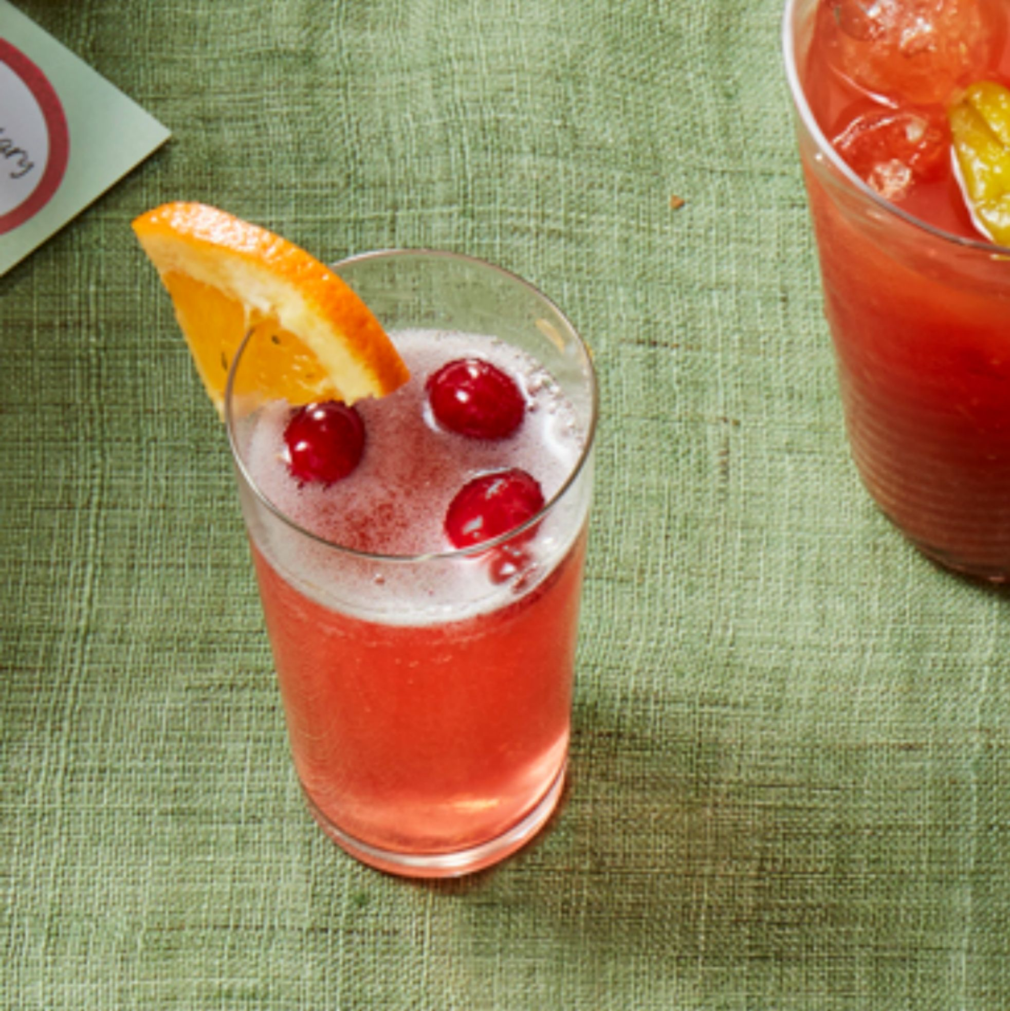 Orange-Cranberry Mimosa - mimosa recipe