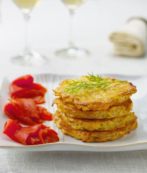 Dish, Food, Cuisine, Potato pancake, Potato cake, Ingredient, Fritter, Fried food, Vegetarian food, Produce,