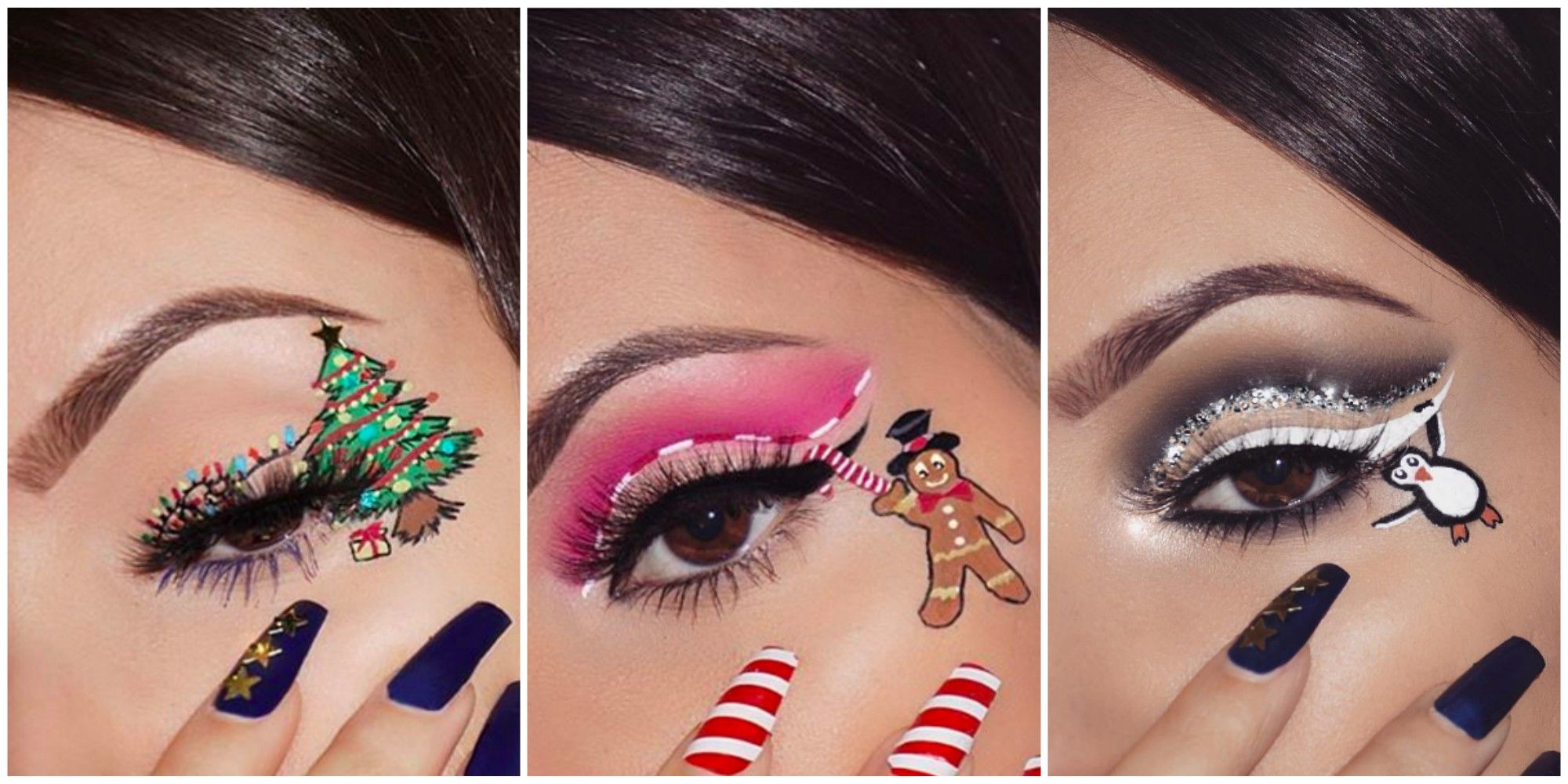 These Festive Makeup Looks are the Most Magical Thing You\u0027ll