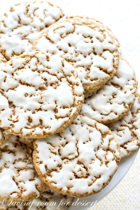 christmas biscuits old fashioned iced oatmeal cookies