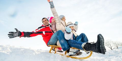 Winter, Fun, Trousers, Recreation, Outerwear, Leisure, Jeans, Outdoor recreation, People in nature, Adventure,