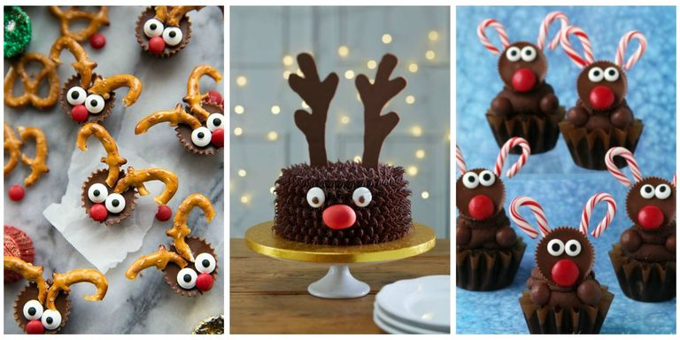 17 best reindeer cupcakes and desserts best reindeer cookies these sweet reindeer cupcakes and cookies will sleigh you forumfinder Choice Image