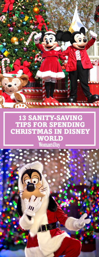 save these sanity saving tips for spending christmas at disney world for later dont forget to follow womans day on pinterest for more great christmas