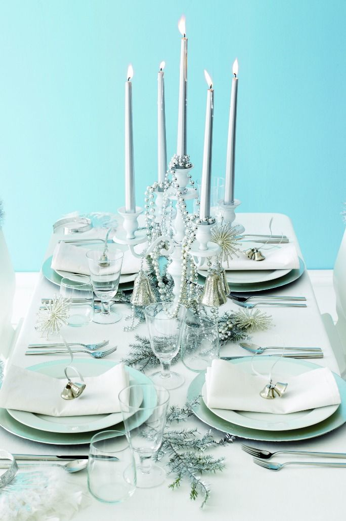 New Years Eve Table Decorations blue table decor