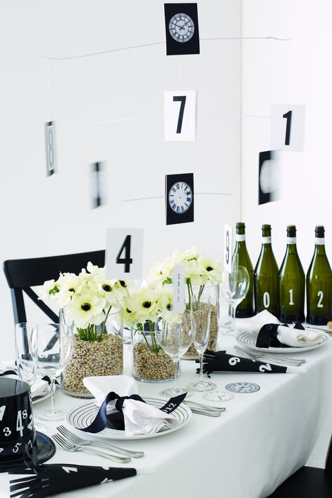 New Years Eve Table Decorations Festive New Year S