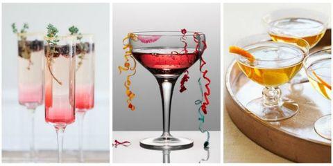 Stemware, Champagne stemware, Wine glass, Drink, Glass, Classic cocktail, Drinkware, Wine cocktail, Cocktail, Martini glass,
