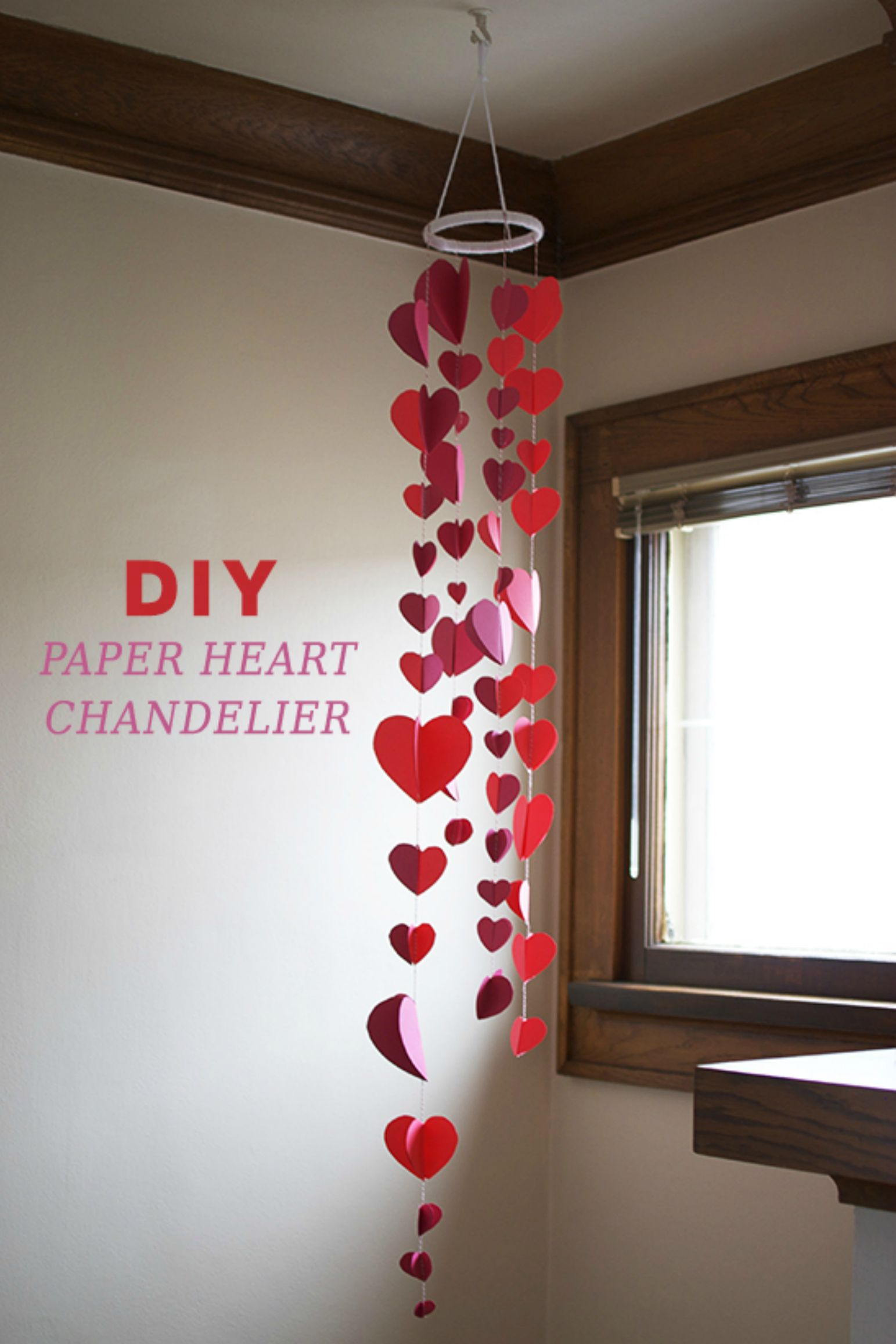 15 Diy Valentine S Day Decorations Easy Valentines Day Decor Ideas