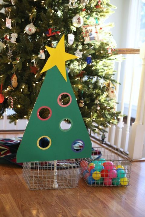 christmas games christmas tree ball sort game - Christmas Games For Toddlers