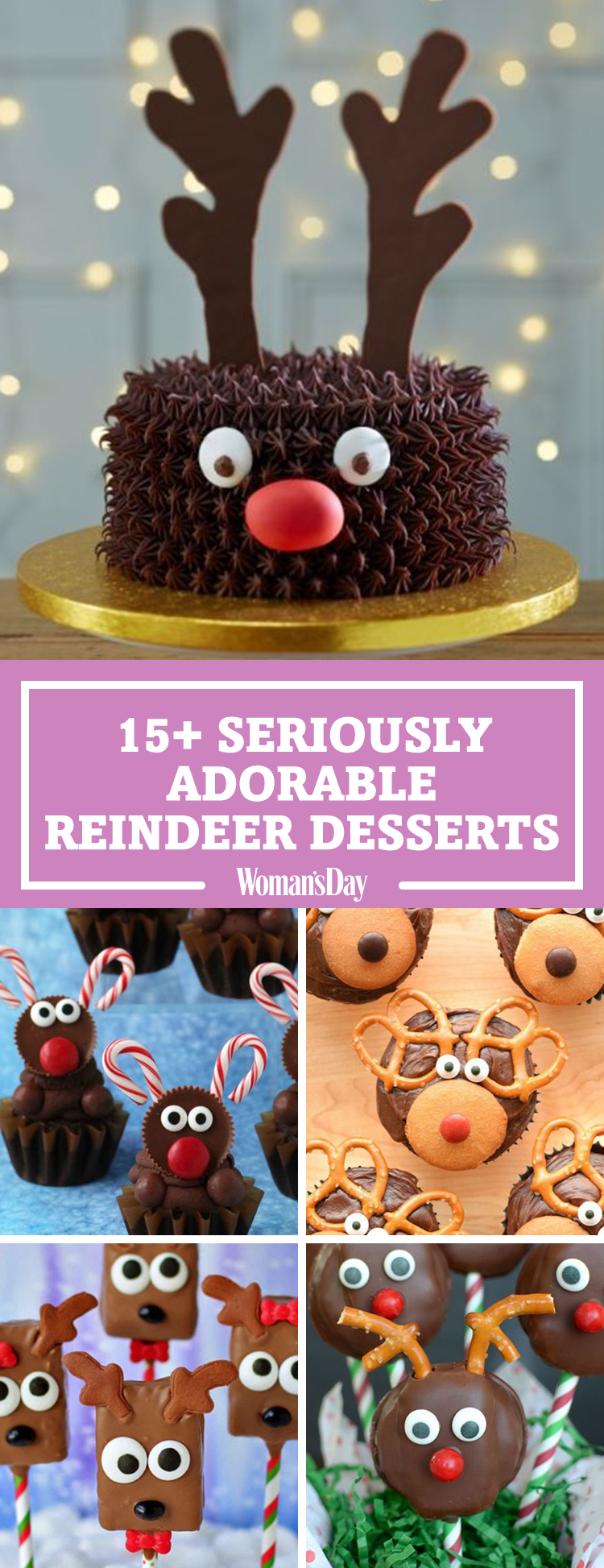17 best reindeer cupcakes and desserts best reindeer cookies forumfinder Choice Image