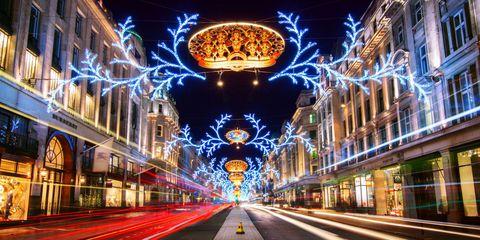 Lighting, Night, Electricity, Road surface, Majorelle blue, Landmark, Amber, Light, Midnight, Neon,