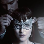 Text, Eyelash, Mask, Masque, Hair accessory, Makeover, Screenshot, Headpiece, Portrait photography, Eye liner,