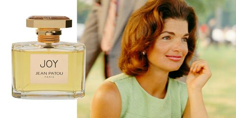 <p>While Jackie wore several perfumes throughout her life, one of her favorites was the classic Joy by Jean Patou, known for years as the most expensive perfume in the world. For just one ounce of the heavily floral scent, more than 10,000 jasmine flowers and 28 dozen roses are required—a risky business decision, especially since the scent was created in 1929 at the start of the Great Depression. The aura of uber-luxury and prestige worked: Joy went on to become one of the most successful fragrances of all time, and was voted Scent of the Century in 2000 at the Fragrance Foundation's FiFi Awards.</p>