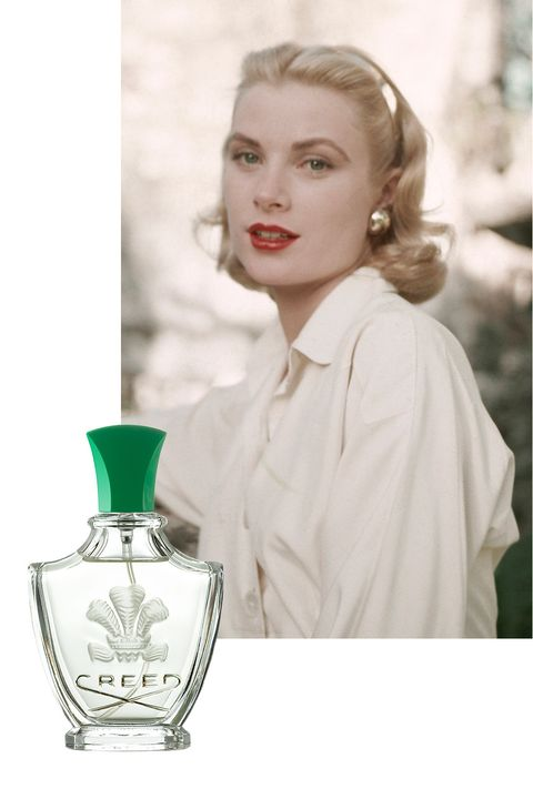 "<p>When <a href=""http://www.townandcountrymag.com/society/tradition/news/g2226/grace-kelly-prince-rainier-wedding/"" target=""_blank"" data-tracking-id=""recirc-text-link"">Grace Kelly became Her Serene Highness Princess Grace of Monaco</a> in 1956, walking down the aisle of Cathédrale Notre-Dame-Immaculée in front of guests including Cary Grant and Ava Gardner, she did so wearing Creed Fleurissimo. The fragrance, from the esteemed family-owned fragrance house, was commissioned specially by Prince Rainier for his bride to compliment her wedding bouquet and contains notes of bergamot, tuberose, Florentine iris, and Bulgarian rose. </p>"