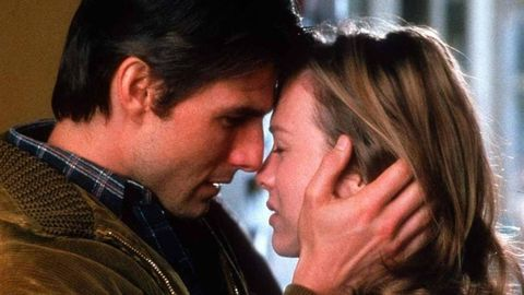 Tom Cruise and Renee Zellweger in a scene from Jerry Maguire
