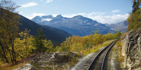 Mountainous landforms, Nature, Track, Mountain range, Highland, Cloud, Natural landscape, Mountain, Ridge, Valley,