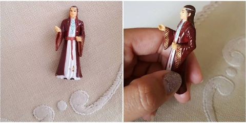 Human, Finger, Toy, Thumb, Nail, Figurine, Collectable, Creative arts, Doll, Vintage clothing,