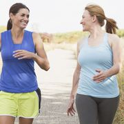 Smile, Mouth, Sportswear, Happy, People in nature, Active pants, Waist, Shorts, Sleeveless shirt, Active tank,